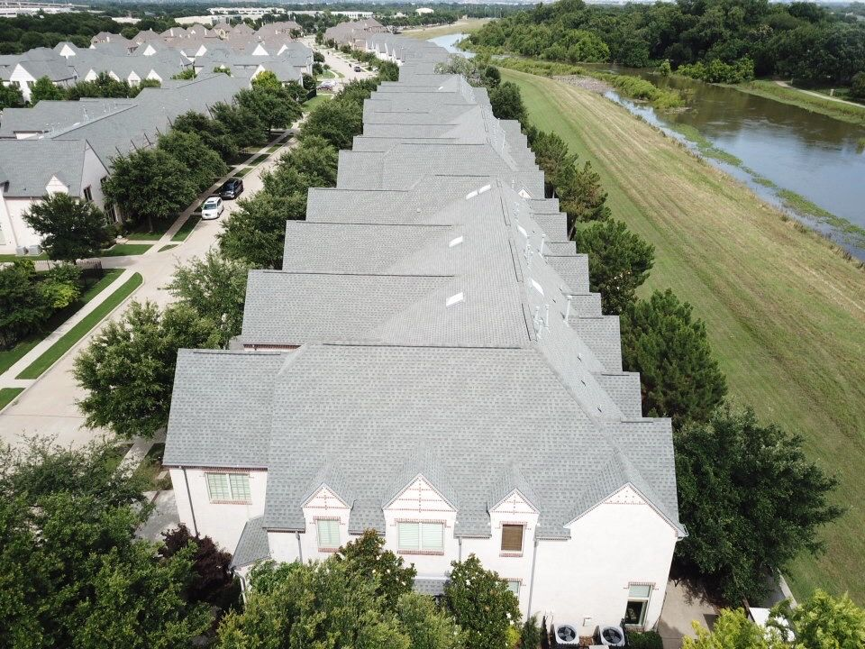 Apartment buildings commercial roofing