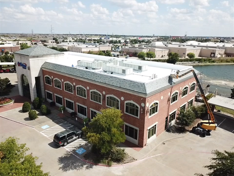 Commercial Construction on Brick Building